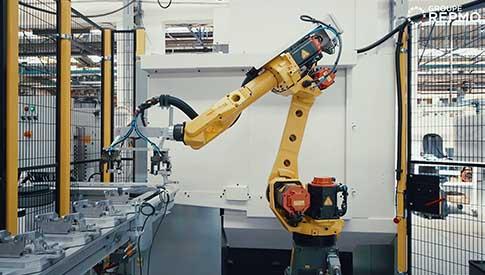 ligne de production robotisée techni cn groupe repmo